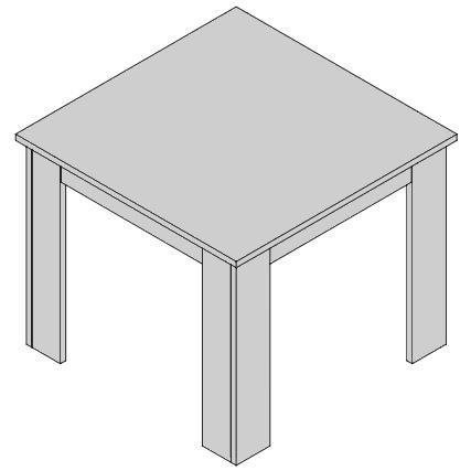 Jedálenský stôl ST1-38