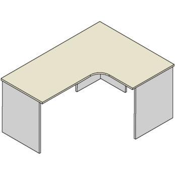 Rohový stôl M-Soft 36L