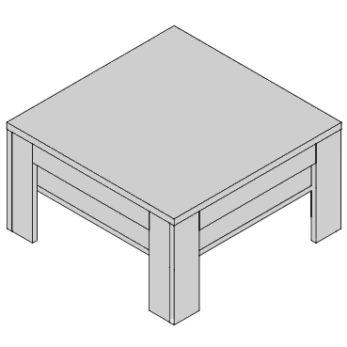 Konferenčný stolík KS-D2