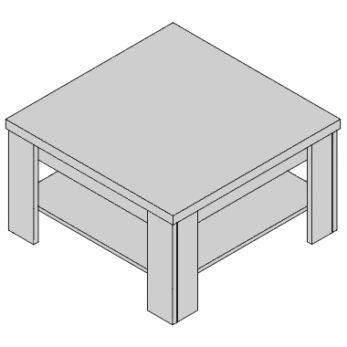 Konferenčný stolík KS-D2-38