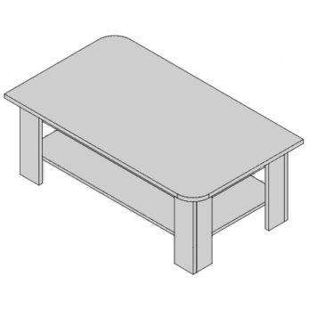 Konferenčný stolík KS-D3/1