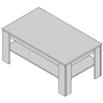 Konferenčný stolík KS-D3/2
