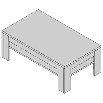 Konferenčný stolík KS-D3
