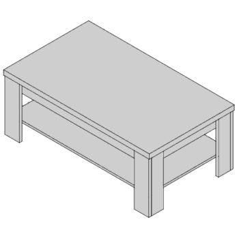 Konferenčný stolík KS-D3-38