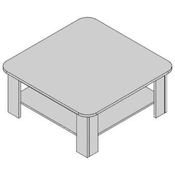 Konferenčný stolík KS-D5/1