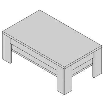 Konferenčný stolík KS-D9