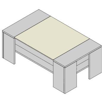 Konferenčný stolík KS-F3