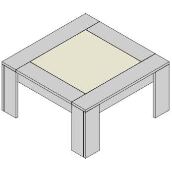 Konferenčný stolík KS-G
