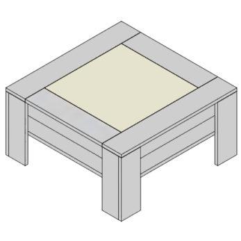 Konferenčný stolík KS-G2