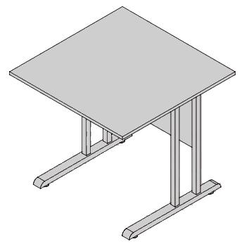 Pracovný stôl PZ 05