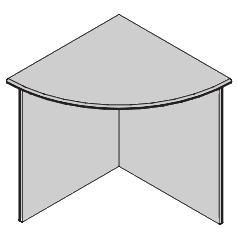 Oblúkový stolový segment PZ 78