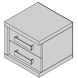 Nočný stolík ND38L