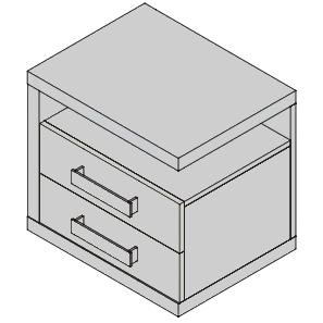 Nočný stolík NF38L