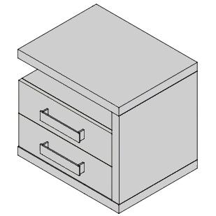 Nočný stolík NF38P